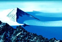 Alien UFO found near Egyptian Pyramid in Antarctica