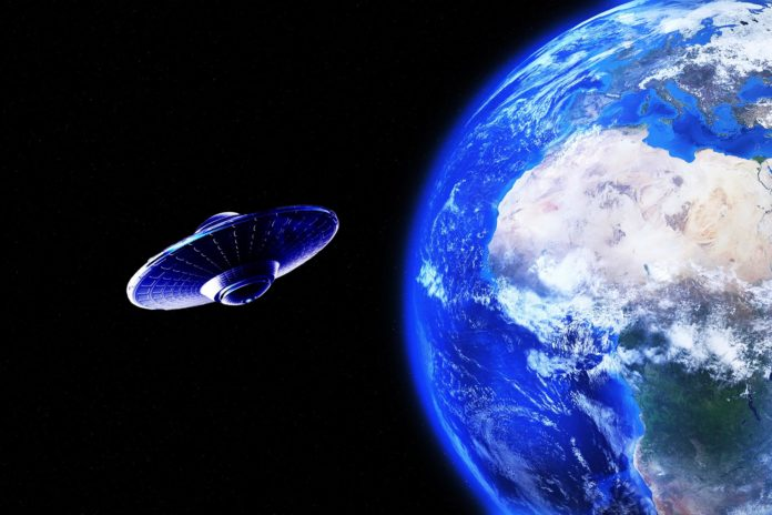 UFO is Orbiting Earth; NASA Remains Silent
